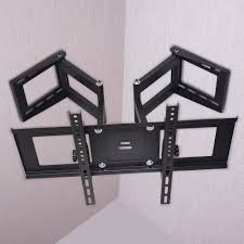 full motion corner tv wall mount tv hangers ebay hanger inspirations decoration