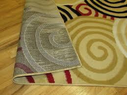 5x7 Area Rugs by Arlington Collection Multi Color Circles Design Geometric 3 Pcs