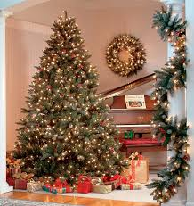 premium artificial christmas trees christmas lights decoration
