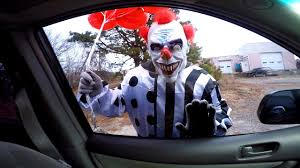 coloring pages of scary clowns scary killer clown attacks kids in car scary clown chase youtube