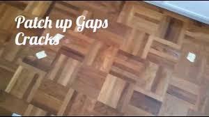 parquet home diy 1 2 3 how to repair wood parquet floor gaps