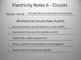 Notes Toaster Electricity Notes 6 Circuits Electric Circuit U2013 All Electrical