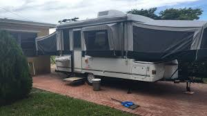 Travel Trailers With King Bed Slide Out 2002 Coleman Bayside Elite Pop Up Camper Excellent Condition