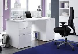 White Gloss Office Furniture by Pleasing 20 Large White Office Desk Inspiration Of Wonderful