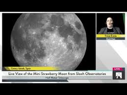 what is a strawberry moon the mini strawberry moon youtube