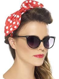 1950s headband 1950 s polka dot bow headband
