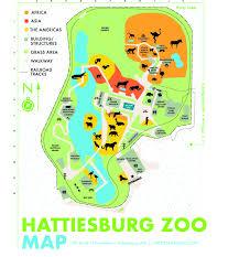 map of hattiesburg ms brochures for the hattiesburg zoo hattiesburg ms