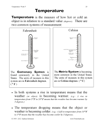 temperature worksheets 3rd 4th 5th grade math just turn and