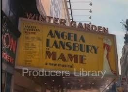 broadway marquee mame winter garden theatre angela lansbury