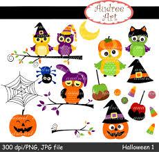 cute owl halloween clipart 83