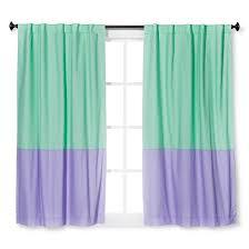 Mint Blue Curtains Twill Light Blocking Curtain Panel Mint Green U0026 Lavender