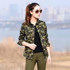 camo blouse camouflage shirt camo print shirts with chest pockets 2017