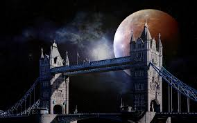 tower bridge london twilight wallpapers full moon free pictures on pixabay