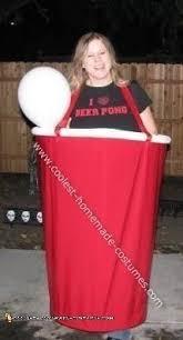 Beer Halloween Costumes Coolest Homemade Beer Pong Solo Cups Costumes