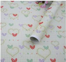 heart wrapping paper 60g fancy design gift wrapping paper heart shaped 52 75cm wrapping