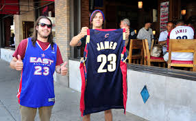 lebron james halloween party lebron james to wear jersey no 23 in return to cavaliers si com