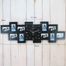 wanduhr modern hausdeko deko uhr bilderrahmenuhren wanduhr modern digital