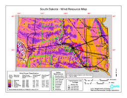 Map South Dakota File South Dakota Wind Resource Map 50m 800 Jpg Wikimedia Commons