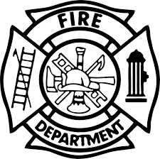 fire deptment vinyl sticker decal
