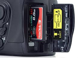 Memory Card Nikon D70 photography