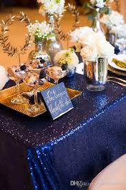 used wedding supplies chagne gold sequined tablecloth wedding supplies party