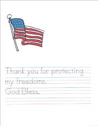 write a soldier a veteran u0027s day activity the homeschool post