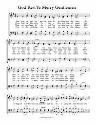 free choir sheet god rest ye merry gentlemen michael kravchuk