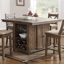 Tuscan Dining Room Furniture by New Classic Tuscany Park Pub Table With Wine Glass And Bottle