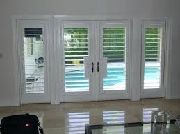 Bypass Shutters For Patio Doors Shutters For Sliding Patio Doors Home Design Ideas And Pictures
