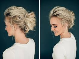 Hochsteckfrisurenen Casual by 10 Stunning Up Do Hairstyles 2017 Bun Updo Hairstyle Designs For