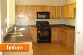 builder grade before after upgrading a builder s grade kitchen