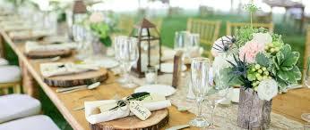 rustic table setting ideas long table setting for wedding rustic table setting ideas rustic