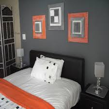 grey bedrooms orange and grey bedrooms ideas for basement bedrooms