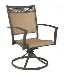 Patio Swivel Chair Carmadelia Patio Sling Chairs Set Of 4 Chairs