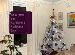 cardboard christmas tree diy how to make a cardboard christmas tree live colorful