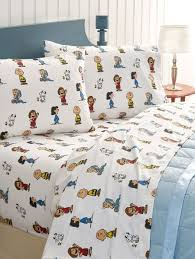 cotton flannel sheets brown peanuts
