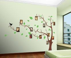 online buy wholesale vinyl wall art decals from china family picture photo frame tree wall art stickers vinyl decals home decor flat sticker