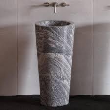 Pedestal Sink Veneto Pedestal Sink Cumulo Granite U2013 Stone Forest