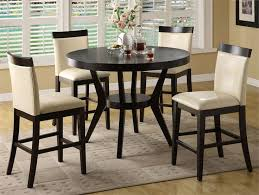 small tall round kitchen table extraordinary tall round kitchen tables table sets home furniture