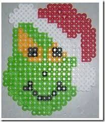How To Make Christmas Ornaments Out Of Beads - beads perles parels christmas trees perler project pattern