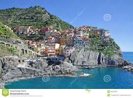 Manarola Italy Map by Manarola Cinque Terre Liguria Italy Stock Images Image 22523364