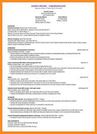Sample Stock Portfolio Spreadsheet Sample Resume For Undergraduate Students Resume For Your Job