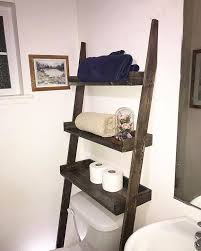 Bathroom Storage Ladder Rustic Bathroom Shelf Ladder Elon S