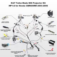 aliexpress com buy kt headlight fits for honda cbr600rr 2003