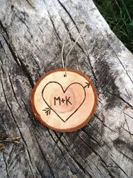 christmas ornaments with initials 74 best diy wood cookie projects images on woodburning