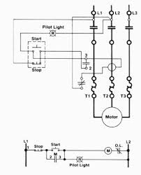 motor starter wiring diagram motor wiring diagrams instruction