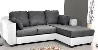 canapé d angle bi matière canapé d angle réversible bi matière blanc gris hudson lestendances fr