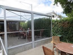 terrasse transparente bewegl wetterschutz für ihre terrasse direkt vom