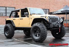 mopar 2012 sema jeep wrangler sand trooper road com