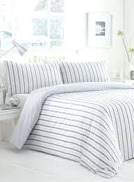 White Stripe Duvet Cover Duvet Covers Grey And White Striped Duvet Covers Blue And White